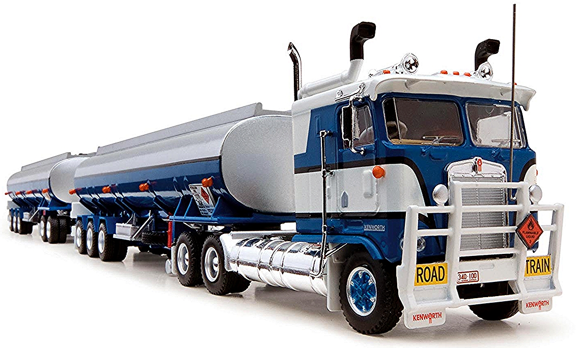 Tanker Road Train Cab Over Engine Kenworth Prime Mover, 2