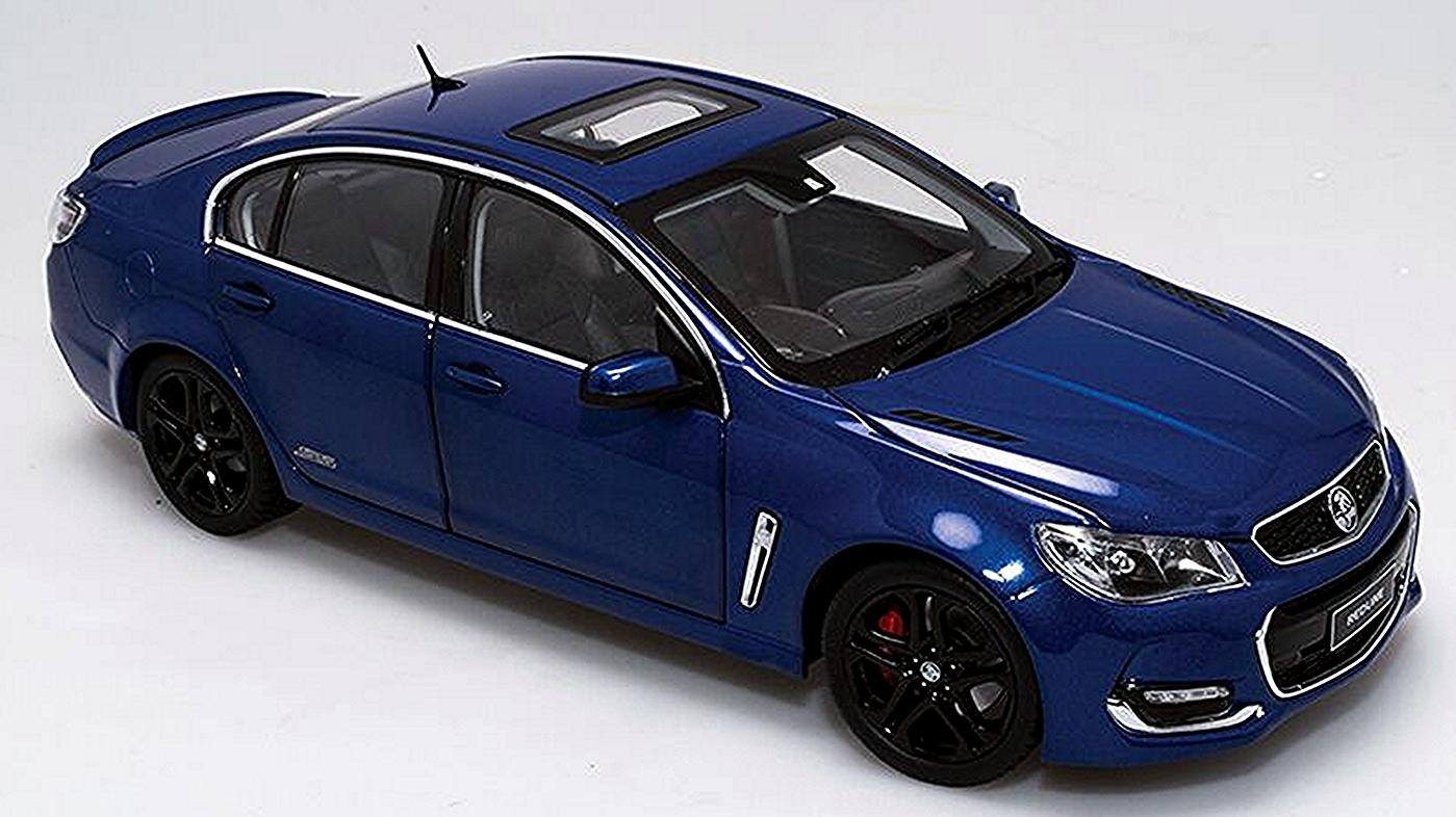 *Holden VF II Commodore SS-V Redline in Slipstream Blue
