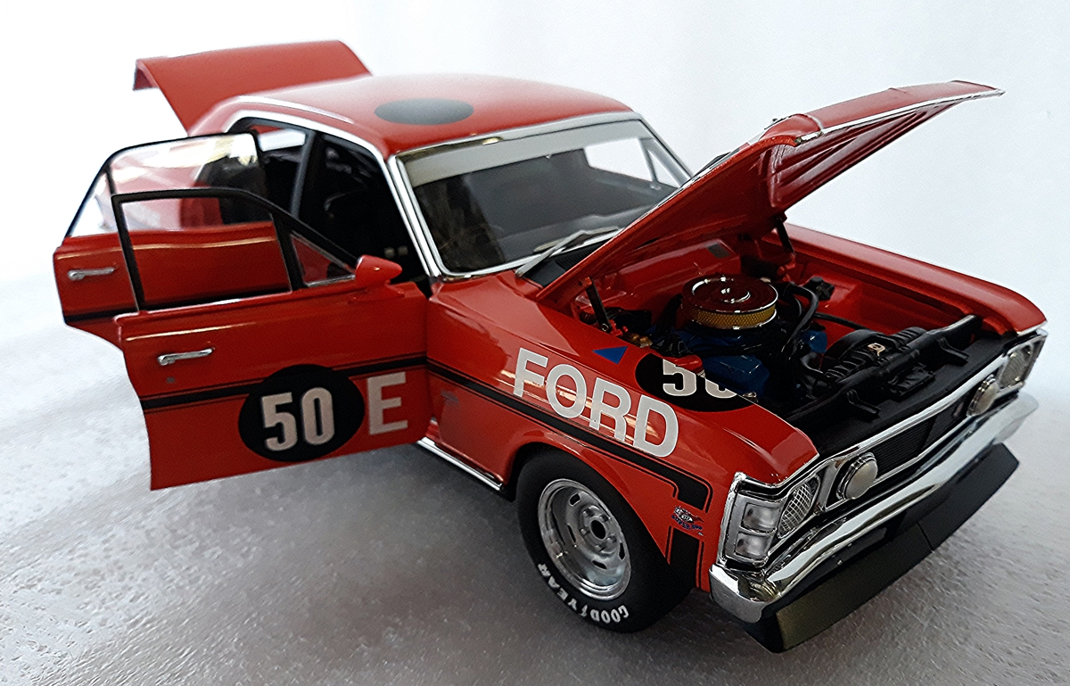 Ford Xw Falcon Gtho Phase Ii 1970 Sandown 250 Winner Allan Moffat Gt 351