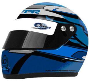 2013 FPR Limited Edition 10th Anniversary Mini Helmet