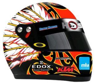 2013 Greg Murphy Mini Helmet
