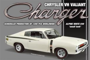 Chrysler Valiant Charger VH R/T E49 1972 Alpine White