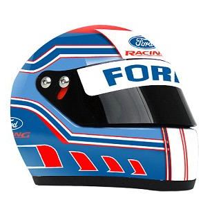Ford Racing Mini Replica Helmet