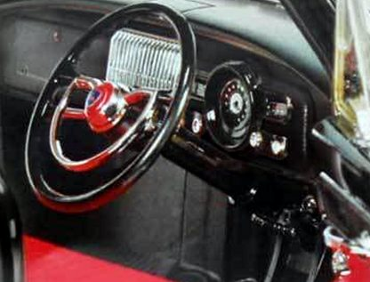 Holden FC Special Black With Riff Red & Black Interior