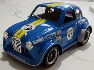 Peter Brocks Austin A30 #179 (Bright Blue)