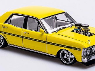 "Ford XY Falcon Street Machine ""Hazard""- Neon Yellow"