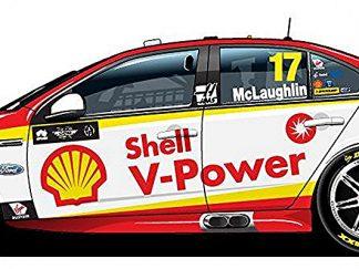 -Shell V-Power Racing Team Ford FGX Falcon - 2018 Virgin Australia Supercars Championship Season - #17 Scott McLaughlin