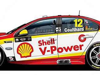 *Shell V-Power Racing Team Ford FGX Falcon - 2018 Virgin Australia Supercars Championship Season - #12 Fabian Coulthard