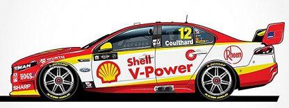 *Shell V-Power Racing Team Ford FGX Falcon - 2018 Virgin Australia Supercars Championship Season - #12 Fabian Coulthard
