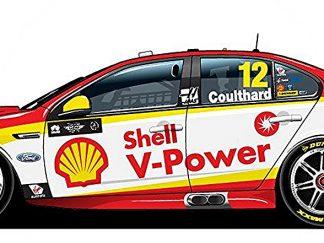 Shell V-Power Racing Team Ford FGX Falcon - 2018 Virgin Australia Supercars Championship Season - #12 Fabian Coulthard