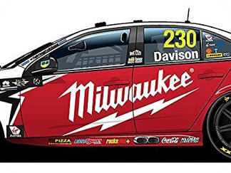 *Red Racing Milwaukee Ford FGX Falcon - 2018 Virgin Australia Supercars Championship Season - #230 Will Davison