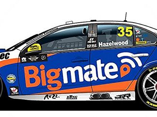 Matt Stone Racing Bigmate Ford FGX Falcon - 2018 Virgin Australia Supercars Championship Season - #35 Todd Hazelwood