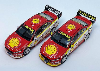 *Shell V-Power Racing Team #12 / #17 Ford FGX Falcon Supercars 2017 Teams Champion Twinset