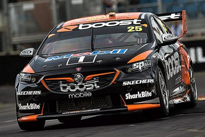 -Holden ZB Commodore Mobil 1 Boost Mobile Racing #25 James Courtney 2018Virgin Australia Supercars Series