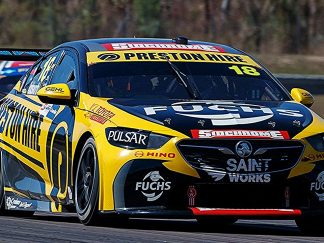 Holden ZB Commodore Preston Hire Racing #18 Lee Holdsworth 2018 Virgin Australia Supercars Series