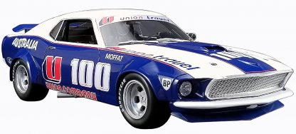 Allan Moffat Racing # U100 1969 Ford Boss 302 Trans Am Mustang RAR