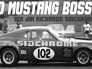 Ford Mustang Boss 302 #102 Jim Richards Sidchrome 1969