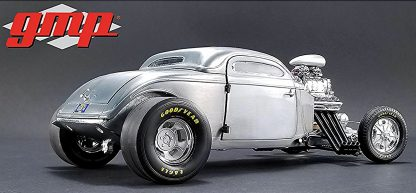 1934 Altered Coupe Raw Steel