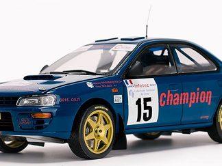 Subaru Impreza 555 - No. 15 M Massarotto / Y Bouzat - 3rd Tour de Corse Rallye de France 1996 L.E. 998