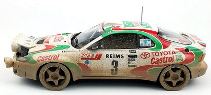 Toyota Celia GT Four ST185 (GT-Four A) Auriol / Occelli winner 1993 Rally Monte Carlo
